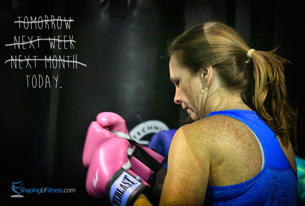 Boxing exercise for fat loss